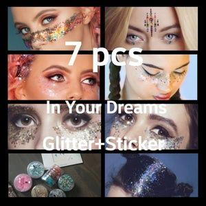 In Your Dreams glitters + sticker